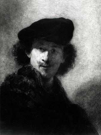 Self Portrait with a Velvet Beret