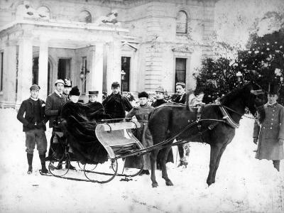 Victorian Sleigh Ride, C.1870-99