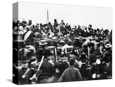 Abraham Lincoln at the Gettysburg Address, 1863 (Detail)