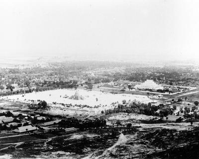 View from Mandalay Hill, Burma 1886