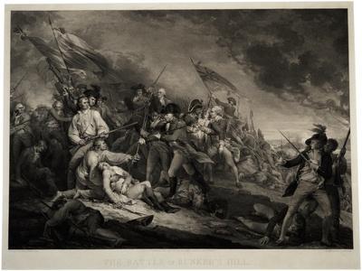 The Battle of Bunker's Hill, 1798