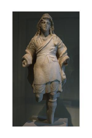 Marble Statuette of Dionysos. 3rd Century BC. Metropolitan Museum of Art. New York. United States