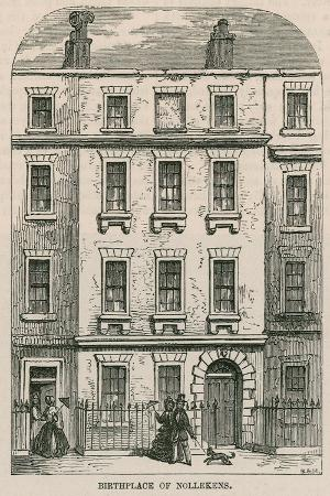 28 Dean Street, Soho, London, Birthplace of Artist Joseph Nollekens