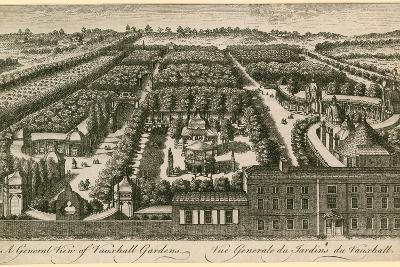 A General View of Vauxhall Gardens, London