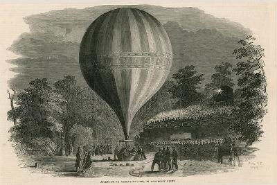 Ascent of Mr Green's Balloon on Wednesday Night; Vauxhall Gardens, London