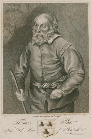 Thomas Parr, the Old Man of Shropshire