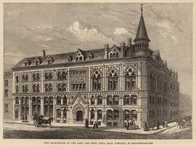 New Dock House of the East and West India Dock Company in Billiter Square