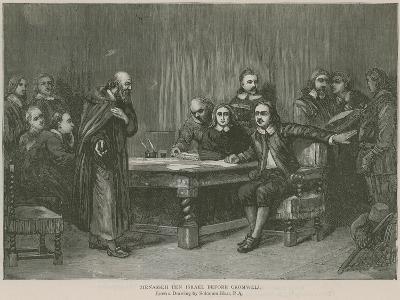 Menasseh Ben Israel before Cromwell