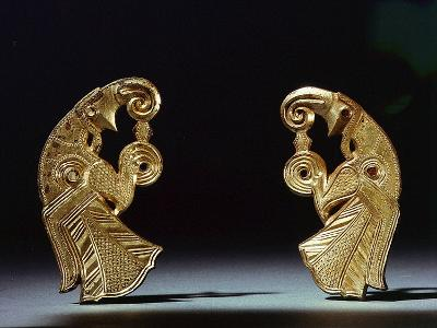 Odin's Birds, a Pair of Harness Mounts from Gotland