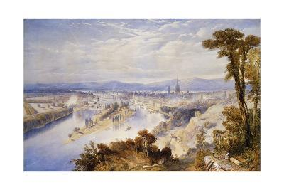 Rouen from St. Catherine's Hill, 1849