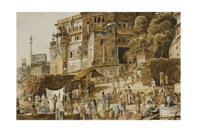 Bruhma Ghat, Benares