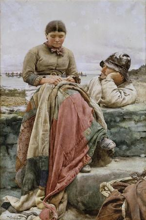 A Lover and His Lass, 1884