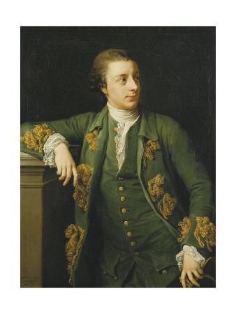 Portrait of Thomas Fortescue, M.P., Standing, Three Quarter Length, Wearing a Green Coat and…