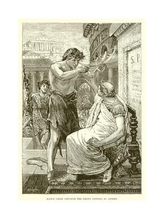 Julius Caesar Refusing the Crown Offered by Antony