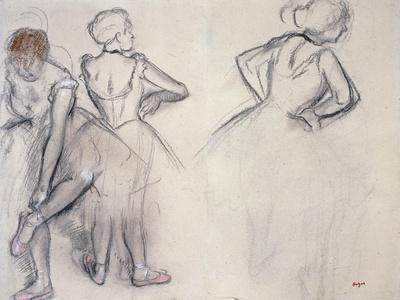 Study of Dancers; Etude De Danseuses