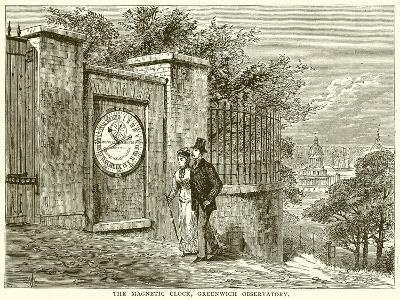 The Magnetic Clock, Greenwich Observatory