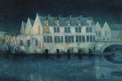 The Night in Bruges; La Nuit a Bruges, 1897