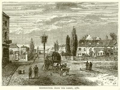 Kennington, from the Green, 1780