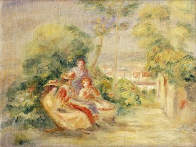 Girls in a Garden; Fillettes Dans Un Jardin, C. 1895