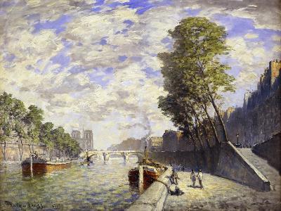 Le Quai Des Grands-Augustine, Paris