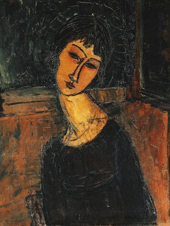 Jeanne Hebuterne, C.1916-17