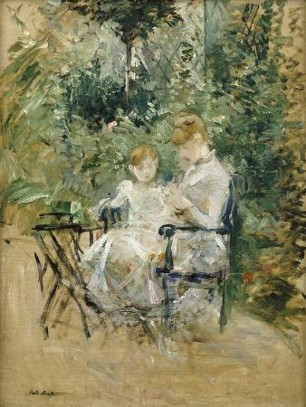 In the Garden; Dans Le Jardin, C.1885