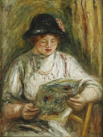 Woman Reading; Femme Lisant, C.1910-12