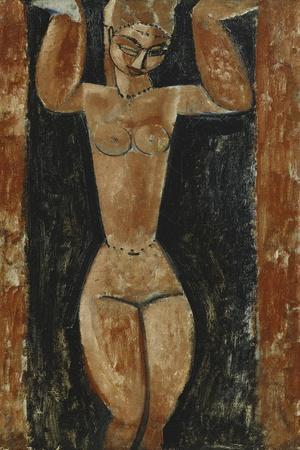 Caryatid; Cariatide, C.1911-1913