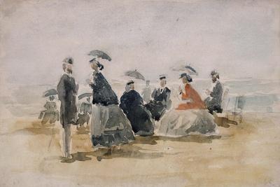 Les Crinolines, 1865