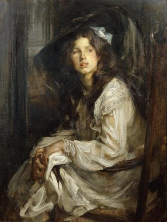 Girl Seated in a Chair