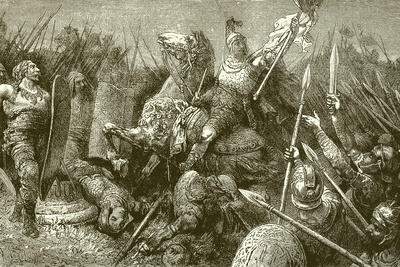 Belisarius Leads the Roman Army Against the Goths
