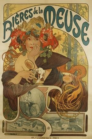 Meuse Beer; Bieres De La Meuse, 1897