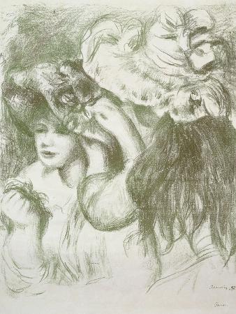 Hat Pin, First Board; Le Chapeau Epingle, Premiere Planche, C.1897