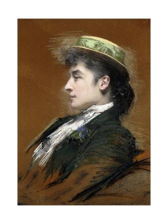Portrait of Mme. Lebegue