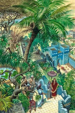 Hanging Gardens Babylon