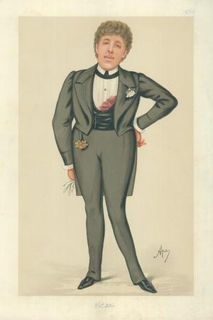 Mr Oscar Wilde, Oscar, 24 May 1884, Vanity Fair Cartoon