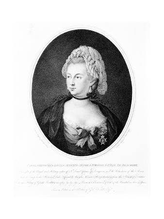 Portrait of Chevalier D'Eon, 1788