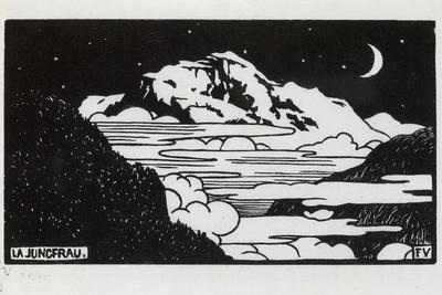 The Jungfrau, 1892