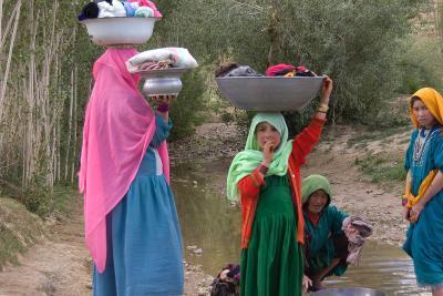 Hazara Women, Bamyian