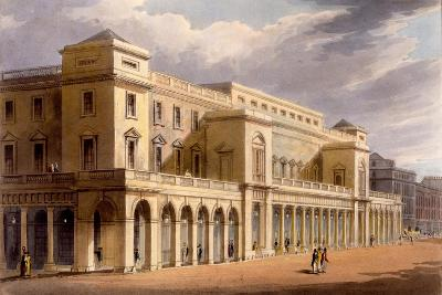 The Opera House, Formerly the Lyceum, London, 1826
