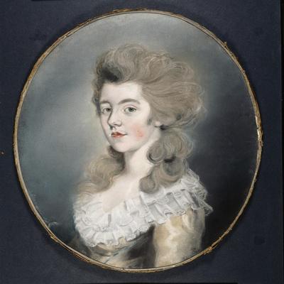 Portrait of Georgiana Spencer