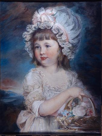Portrait of Lady Henrietta Cavendish