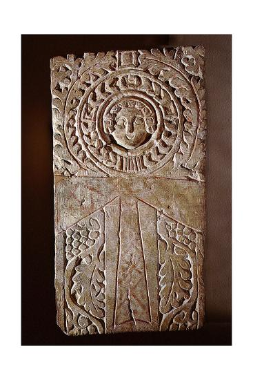 Early Christian Stela Incorporating a Looped Cross (Crux Ansata) or Ankh  Symbol, Surrounded by…