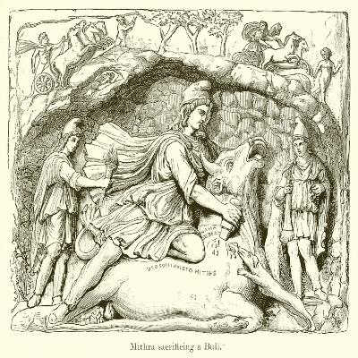 Mithra Sacrificing a Bull