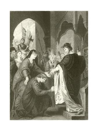 Prince John's Submission to Richard I