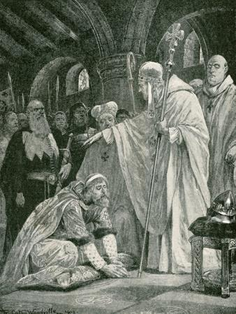 The Prostration of Harold, Son of Godwin