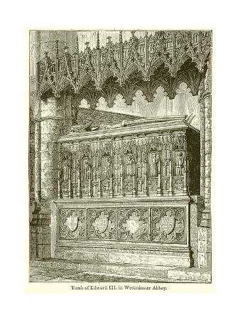 Tomb of Edward III in Westminster Abbey