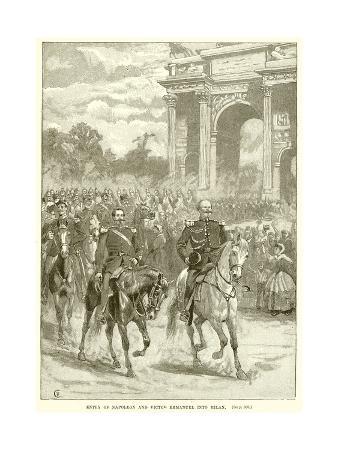 Entry of Napoleon and Victor Emmanuel into Milan