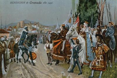 The Surrender of Granada, 1492