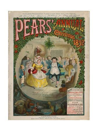 Front Cover of Pears Christmas Annual, 1892